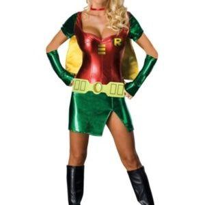 Sexy Robin Super Hero Womens Costume Sz Small